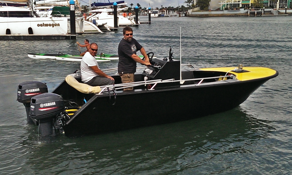 5m boat